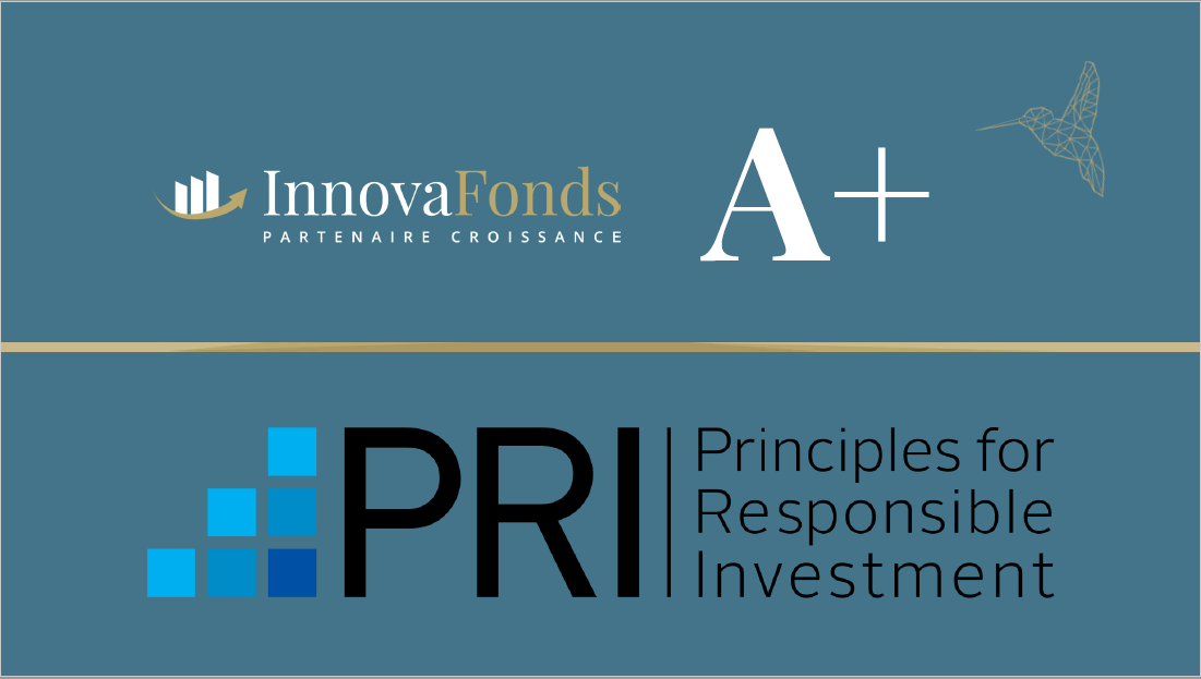 ESG - InnovaFonds rated A+ by the UN PRI!