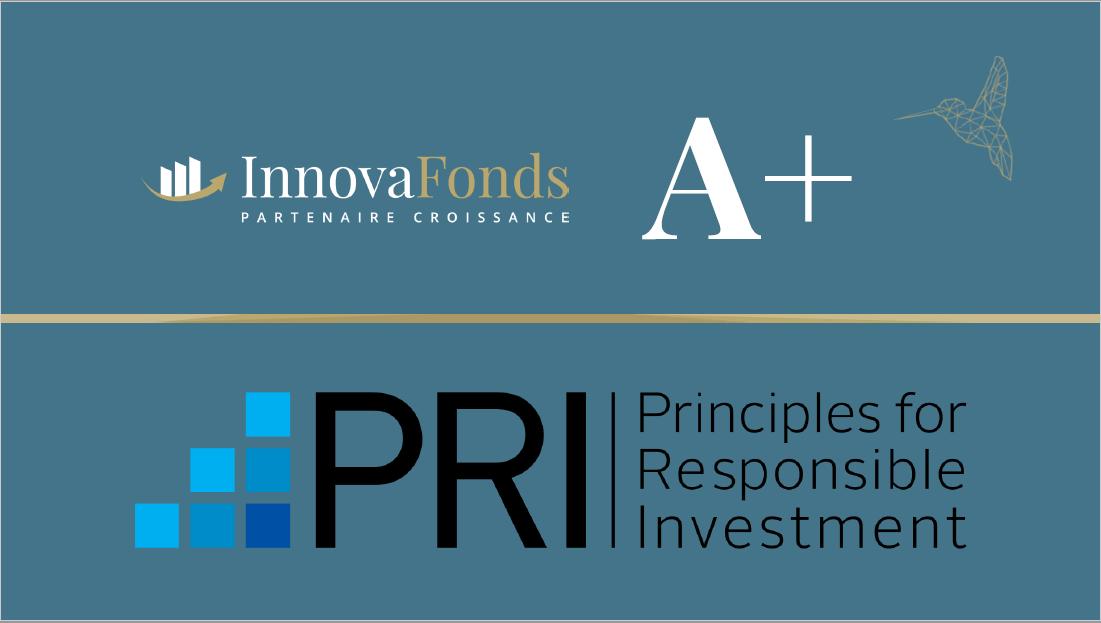 ESG - InnovaFonds rated A+ by the UN PRI!