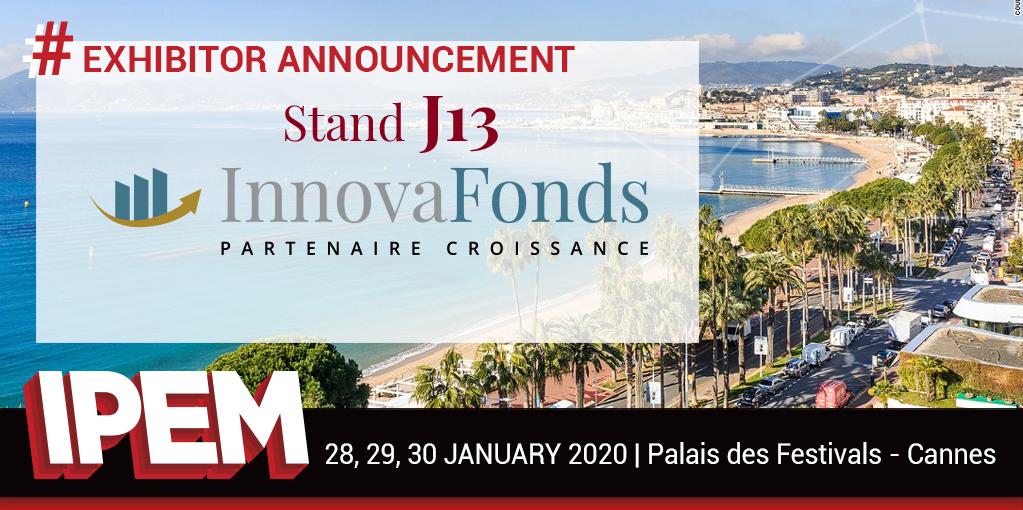 InnovaFonds at IPEM 2020 !
